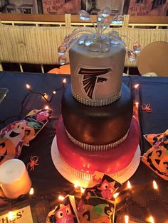 My Atlanta Falcons' Birthday Cake