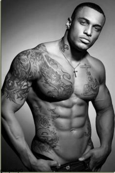 Tattooed Men Eye Candy : theBERRY ;; Thank you Father for this man! YASSS