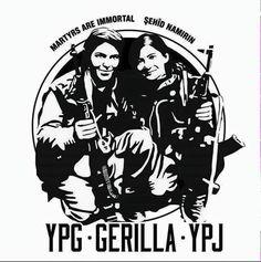 Men har ni sett de nya YPG/YPJ-tröjorna!? Kan köpas av Rojava-kommittéerna på demon på Sergel idag!