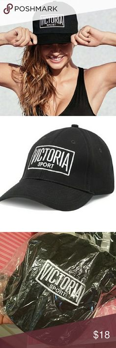 Victoria's Secret Sport logo baseball hat NWT Victoria's Secret sport logo baseball hat 2017  New with Tags still in shipping bag.  I ordered online.  These are sold out/discontinued Victoria's Secret Accessories Hats