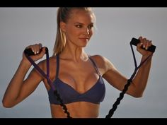 Total Body Sculpting: Resistance Band Workout for Beginners 125-175 Calories - YouTube