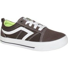 Airspeed Boys Canvas Casual Shoe, Gray