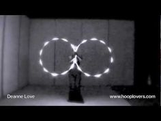 LED Twin Hooping: Into the Light - Deanne Love - Sia - Breathe Me - Most AWESOME hooping video I've seen. Literally took my breath away
