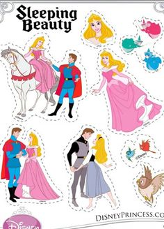 Free Disney Sleeping Beauty Printables, Activities and Downloads! | SKGaleana