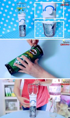 DIY mini water dispenser cooler. How to make your own homemade drinking station.