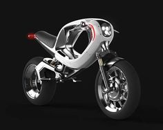Futuristic Electric Motorcycles - The 'frog eBike 2012' is Straight Out of TRON (GALLERY)