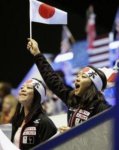 Akiko Suzuki & Mao Asada; World Team Trophy 2013