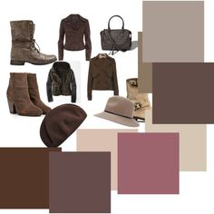 Zyla Neutral: Brown-cool browns from light to medium-dark including a rose tone
