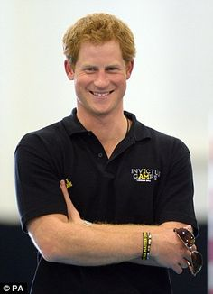 Prince Harry visits the New Zealand Invictus Games Team today at New Zealand House -- Sept 8, 2014
