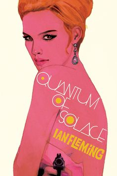 Quantum of Solace Bond Girl (poster by Michael Gillette)