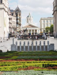 Mont des Arts, Brussels | smarksthespots.com