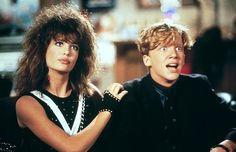 Kelly LeBrock as Lisa in Weird Science.