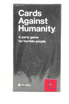 Cards Against Humanity UK edition, Base Set-550 Cards MANUFACTURE SEALED On Sale