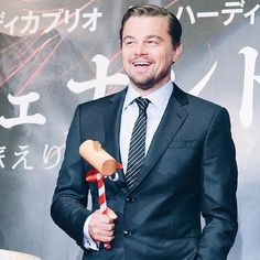 So far, Leonardo DiCaprio's press tour through Asia for The Revenant has been remarkably cute. He kicked things off by making some hilarious, crush-worthy Leonardo Dicaprio, Jack Dawson, Titanic Movie, King Of The World, Press Tour, The Revenant, Katniss Everdeen, Kate Winslet, Man Alive