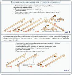 Как зарезать стропила - Кровля и крыша Spiral Staircase Plan, Framing Construction, Home Technology, How To Plan, Building, Bbc, Pergola, Cabin, Garden