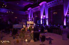wedding uplighting ideas   Villa Siena Gilbert Purple Wedding Lighting 10-19-13