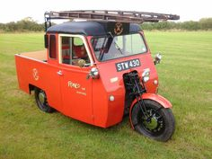 Reliant regent pick up ex roneo vickers fire tender from new in 1951