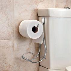 Over-Tank Toilet Paper Holder