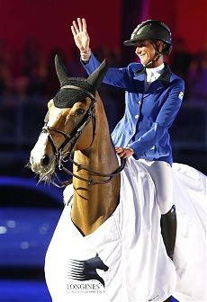 Cannes 2014 Gallery - LONGINES GLOBAL CHAMPIONS TOUR - Penelope Leprevost and Nice Stephanie