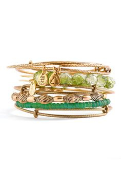 Alex and Ani 'Isis' bangles (Nordstrom)