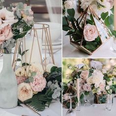 15 Amazing Wedding Decorations That Will Make Jaws Drop is part of Wedding decorations - See all these creative wedding decorations that will make jaws drop! These stunning decoration ideas and inspirations will accentuate your style Wedding Table Centerpieces, Wedding Flower Arrangements, Flower Centerpieces, Wedding Bouquets, Centerpiece Ideas, Terrarium Wedding Centerpiece, Flower Table Decorations, Wedding Table Centres, Diy Wedding Flowers