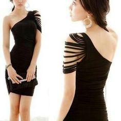 Ese es un hermoso vestido con una manga suelta siganme por fabor
