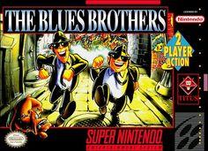 The Blues Brothers Video Walkthrough Game Boy, Arcade, Saga, Dream Cast, Super Nintendo Games, The Blues Brothers, Gaming Rules, Retro Gamer, Rhythm And Blues