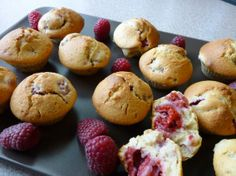 Mini Raspberry muffins Recipe
