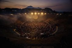 David Gilmour performed two extraordinary concerts at the amphitheatre in Pompeii, a reprisal of the legendary Pink Floyd 1971 film - and Sarah Lee was given exclusive access to photograph the event.