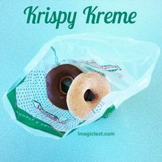 Promote your business or create professional looking ads Krispy Kreme, Promote Your Business, Text Color, Ads, Create