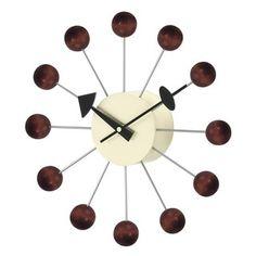 Wanduhr Modern  Ein Accessoire, Das In Jedem Haus Vorhanden Sein Muss |  Pinterest | Wooden Clock, Clocks And Mid Century Modern Design