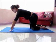 ▶ Basic daily workout for aerial silks - calentamiento diario básico - YouTube