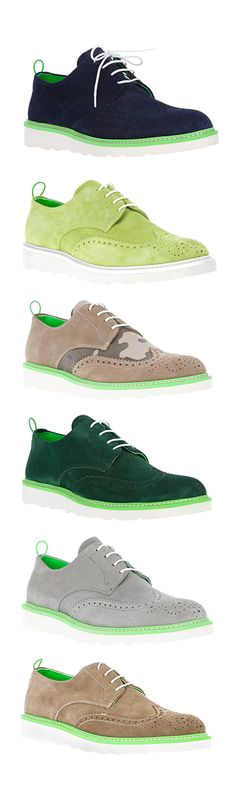 PULCHRUM, suede, smart shoes for the sophisticated, colour loving man. #orawards