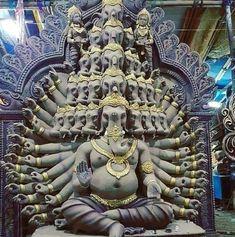 Ganesh Images, Ganesha Pictures, Durga Images, Arte Ganesha, Ganesh Chaturthi Images, Saraswati Goddess, Ganesh Wallpaper, Lord Ganesha Paintings, Hindu Rituals