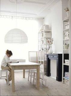 Scandinavian Retreat: Milkey Scandinavian interior