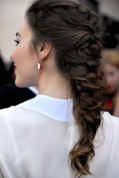 pretty loose braid