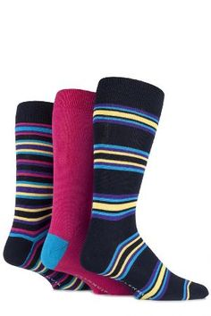 Glenmuir Mens 3 Pair Glenmuir Bamboo Plain and Varied The only sharp things about these ultra-soft Glenmuir bamboo socks are their styles and their colours ndash