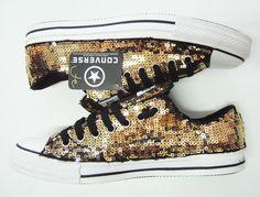 Sequins All Star Low  #allstar #converse #sequins #custom #handmade #unique #telefacciocomevuoi