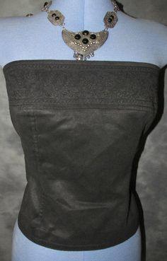 Next,ladies,size 14,black,bandeau,sleeveless,no pattern,Cocktail,,Basque,Top
