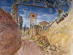 A Vineyard Walk at Lucca (1870) by John Ruskin