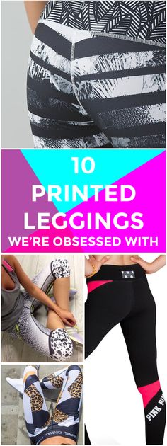 10 gorgeous leggings you need to get your hands on.// cute women's workout clothes