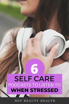Feeling stress, overwhelmed or anxious? These self care podcasts has helped me de-stress and improve my mood during tough times. #selfcare #podcasts Feeling Stressed, Feeling Overwhelmed, How Are You Feeling, Health And Wellness, Health Tips, Philosophy Skin Care, What Is Self, Dealing With Stress, Transform Your Life