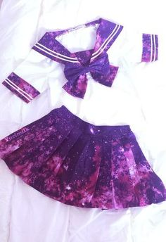 Wear it to a con and be kawaii lol Harajuku Fashion, Lolita Fashion, Japanese Fashion, Asian Fashion, Cute Fashion, Fashion Outfits, Fashion Styles, Galaxy Outfit, Mode Kawaii