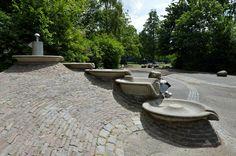 Waterspeelplaats in de Nieuwe Vogelbuurt in Vlaardingen Holy.