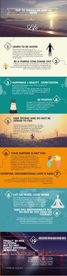 10 Life Lessons for Every Twenty-Something [INFOGRAPHIC]