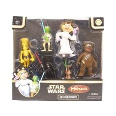 ab9c0c0998dc Amazon.com  Star Wars Muppets Collectible Figures Box Set  Toys   Games