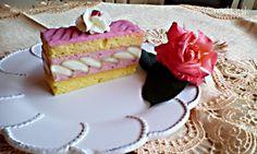 Jahodové rezy s piškótami (fotorecept) - Recept Vanilla Cake, Rum, Cake Recipes, Cheesecake, Food And Drink, Anna, Beverages, Easy Cake Recipes, Cheesecakes