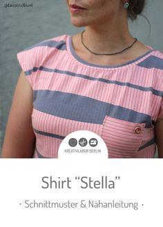 c2c6a97bb4131b Schnittmuster & Nähanleitung für das Shirt