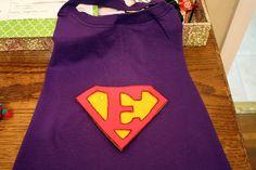 Naturally Chic Mama: Easy Superhero Cape