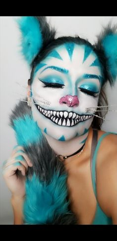 #cheshirecat #makeup #halloween #Eily311